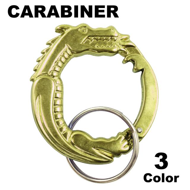 SCULPTED DRAGON CARABINER