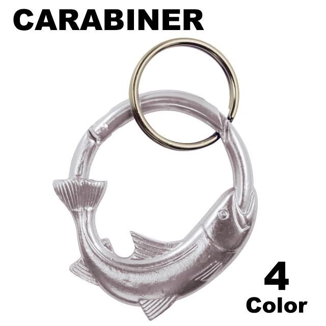 SCULPTED TROOUT CARABINER