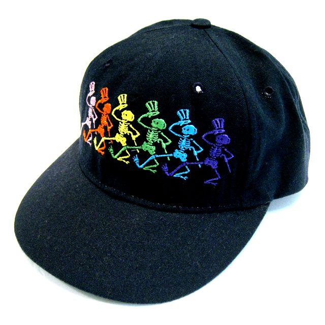 DANCING SKELETON CAP