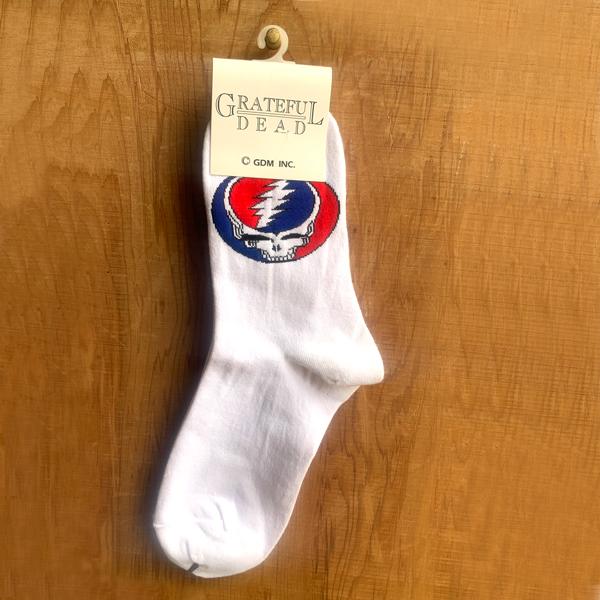【 GD SOCKS WHITE 】【 グレイトフルデッド ウィメンズ ソックス 】靴下