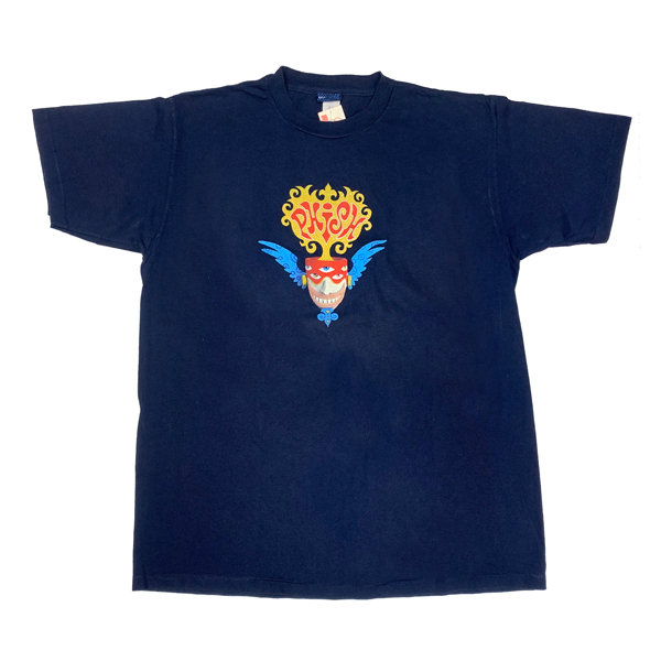 【 PHISH HEAD ON NAVY TEE 】ヘッド オン ネイビー Tシャツ