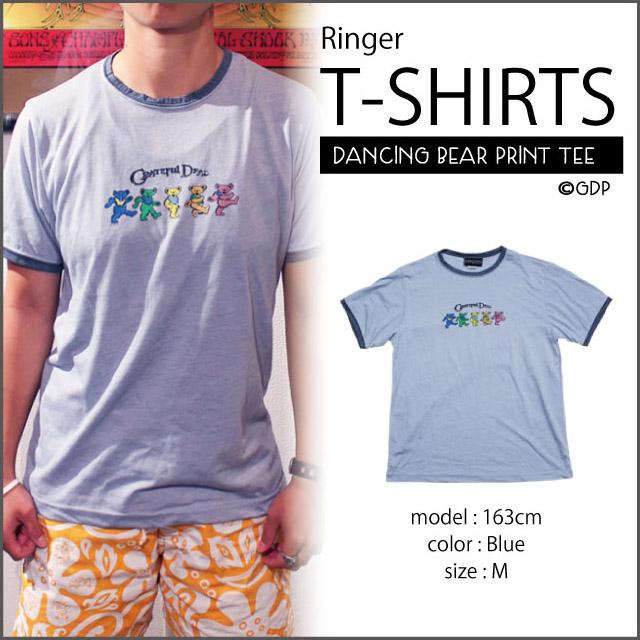 【RINGER TEE】VINTAGE BEARS RINGER T NV