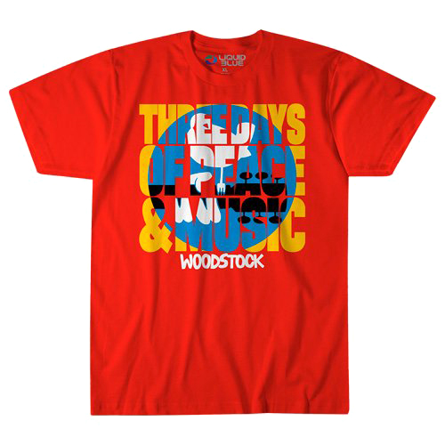 【 Woodstock Logo T-Shirt 】【 S Size 】