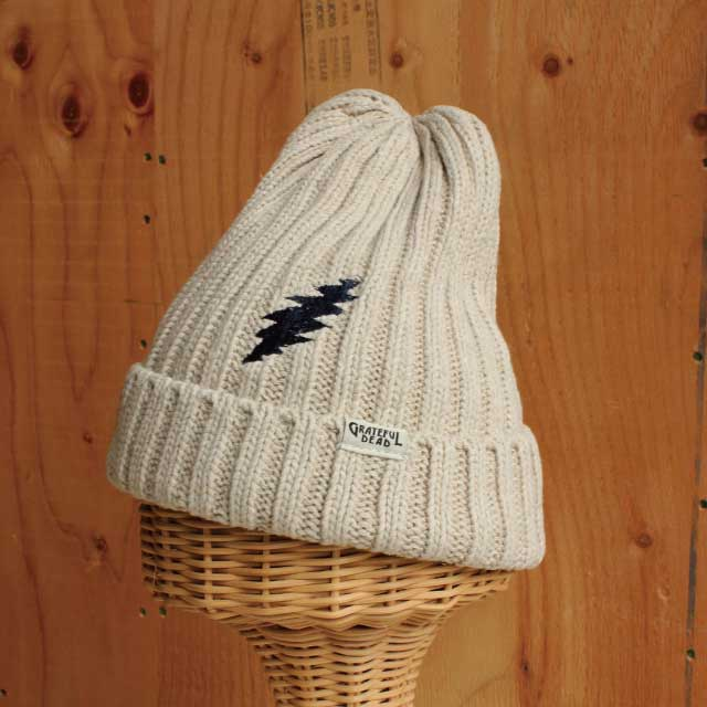 HEMP BOLT KNIT CAP NATURAL (ナチュラル)