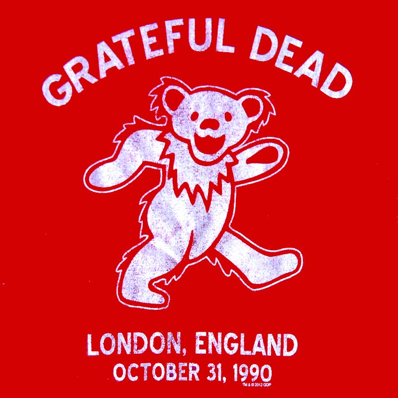 GRATEFUL DEAD LONDON BEAR T