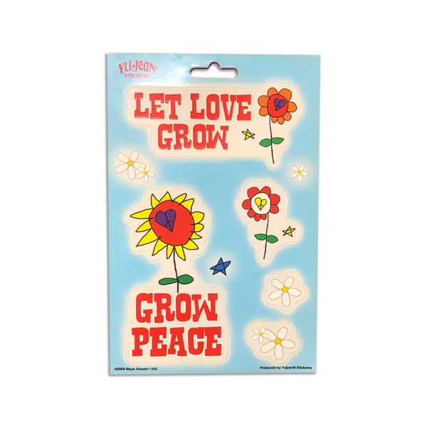 GROW PEACE MULTI PAK STICKER