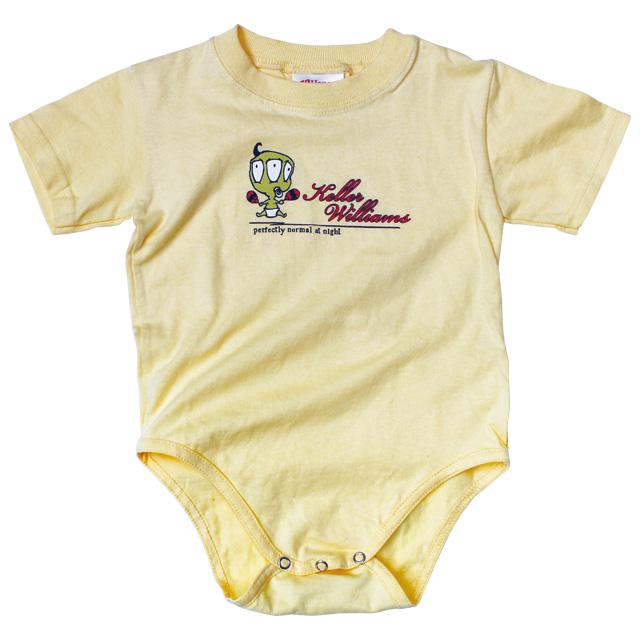 3-EYE FAMILY DAFFODIL SHORT SLEEVE ROMPER BABY KID'S JUMP SUIT 24MON XL