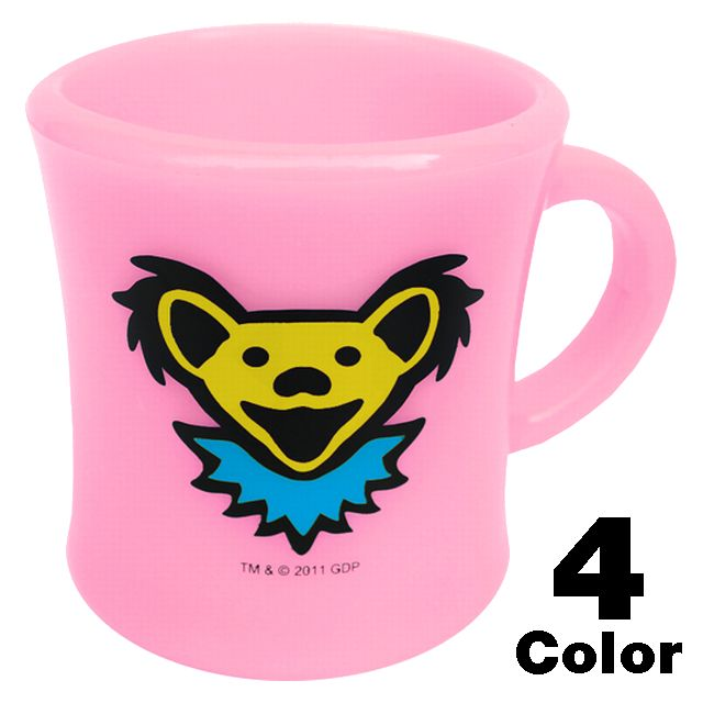 GD BEAR HEAD MUG CUP
