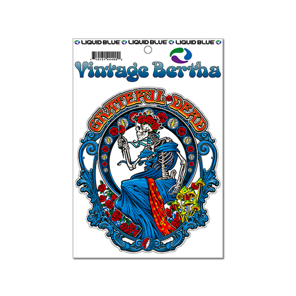 GD VINTAGE BERTHA STICKER