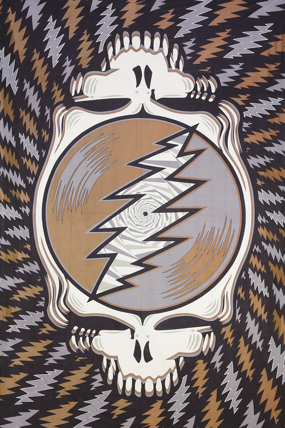 GRATEFUL DEAD SPIN YOUR FACE EARTH TAPESTRY