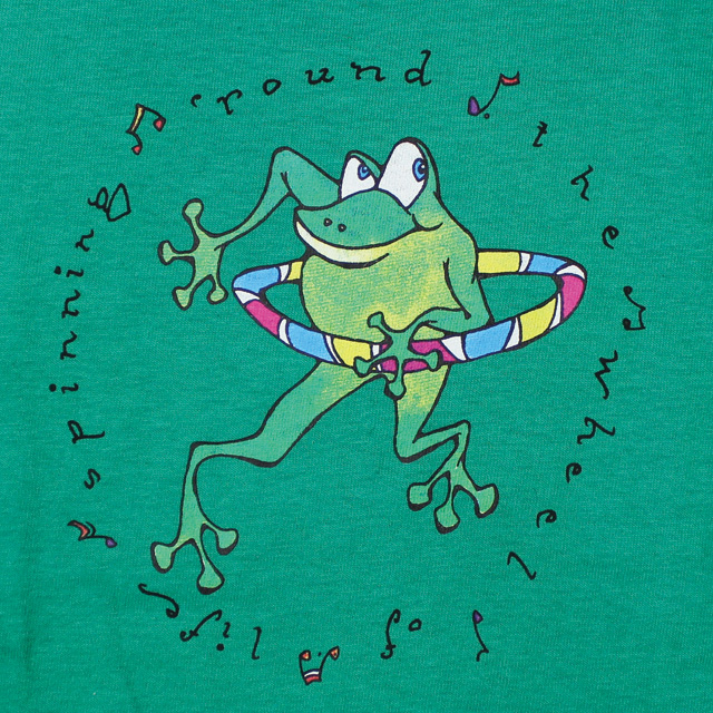 SCI KID'S HOOPING FROG YOUTH GREEN T-SHIRTS