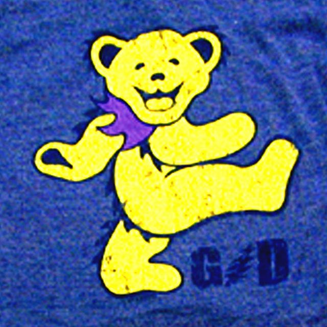 YELLOW DANCING BEAR YTH RGR T