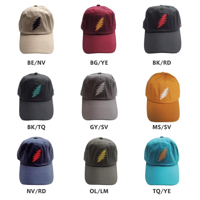 GRATEFUL DEAD 13 POINTS BOLT CAP
