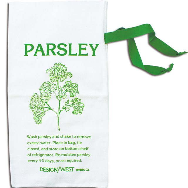 DESIGN WEST PARSLEY FRESH BAG