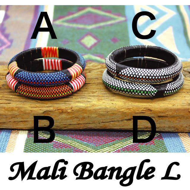 MALI BANGLE LARGE / RECYCLED PLASTIC MATS