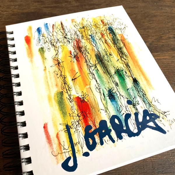 【 JERRY GARCIA SKETCH BOOK/JOURNAL 】 スケッチブック リングノート