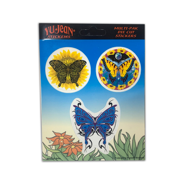 【DAN MORRIS】 BUTTERFLY STICKER DIE CUT