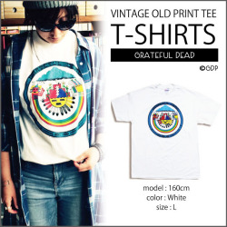 【OLD PRINT】RED ROCKS'82 T-SHIRTS/WHITE