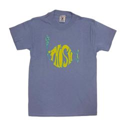 【 PHISH KIDS LOGO ON GRAPE MIST TEE 】 ロゴ オン グレープミスト Tシャツ