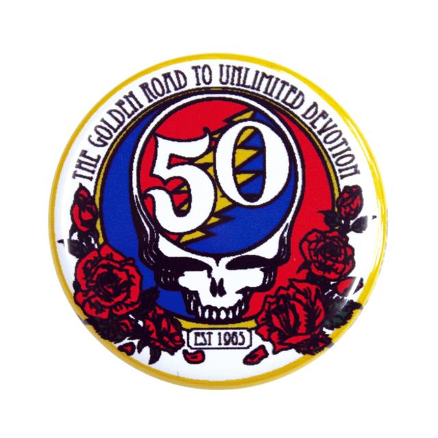 GD 50TH LOGO BUTTON