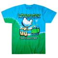 【 Woodstock Graffiti Tie-Dye T-Shirt 】 【 S Size 】