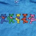 【TIE-DYE】DANCING BEARS TD T