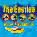 THE BEATLES YELLOW SUBMARINE PORTHOLES TIE-DYE T-SHIRTS YOUTH