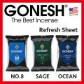GONESH REFRESH SHEET