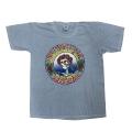 【 SKULL & ROSE PIGMENT TEE 】スカル アンド ローズ ピグメント Tシャツ