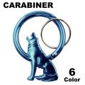 HOWLING COYOTE CARABINER