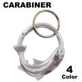 SCULPTED TROOUT CARABINER
