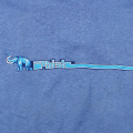 MANMOTH ON BLUE CHICK HEMP WOMENS SHORT SLEEVE T-SHIRTS