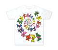 GD SPIRAL BEAR TEE WHITE /  スパイラル ベアー Tシャツ