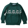 GD BEAR WOOL KIDS SWEATER GR