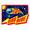 VIDA BLUE STICKER