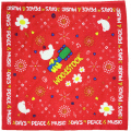 WOODSTOCK BANDANA PEACE FLOWER