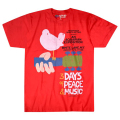 【 WOOD STOCK 3 Days Red T-Shirt 】【 S Size 】