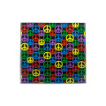 PEACE SIGNS ALL OVER STICKER