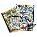 ALL OVER DANCING BEAR STATIONERY SET