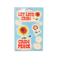 GROW PEACE MULTI PAK STICKER