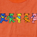 DANCING BEARS YOUTH ORANGE T-SHIRTS