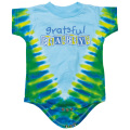 GRATEFUL BABY TIE-DYE SHORT SLEEVE ROMPER BABY KID'S JUMP SUIT