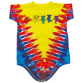 ROW OF BEAR TIE-DYE SHORT SLEEVE ROMPER BABY KID'S JUMP SUIT
