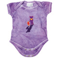 TERRAPIN & BEAR TIE-DYE SHORT SLEEVE ROMPER PURPLE BABY KID'S JUMP SUIT