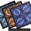 GRATEFUL DEAD SPIN YOUR FACE BANDANA
