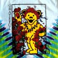 GRATEFUL BEAR W/ROSES TD T