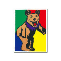 5' ANDY'S BEAR STICKER