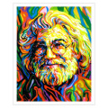 JERRY GARCIA ART STICKER
