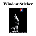 GD WOLF WINDOW STICKER