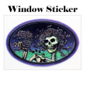 SKULLROSE WINDOW STICKER